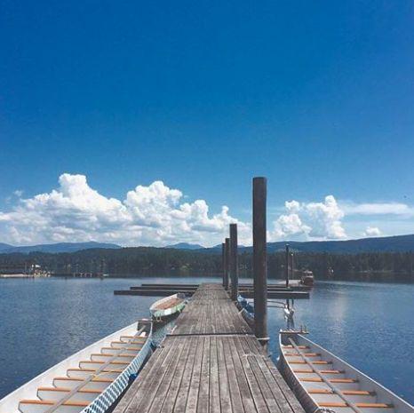 Sproat Lake. Port Alberni BC, Vancouver Island, Canada