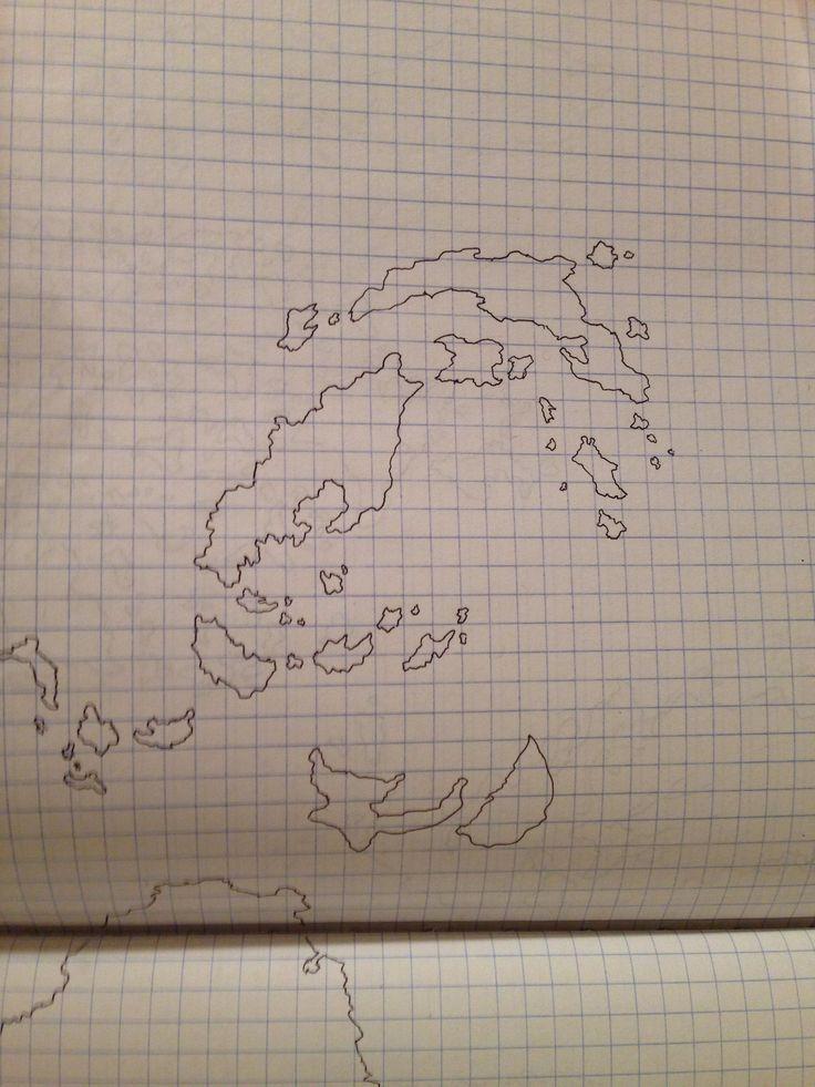 Pau Map%0A Map doodle