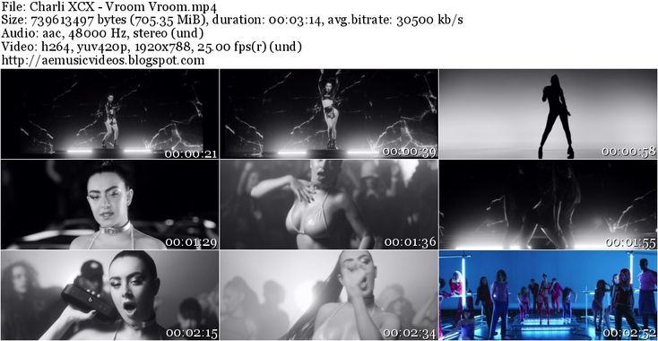 #AEMusicVideos Charli XCX - Vroom Vroom (Master 1080p)