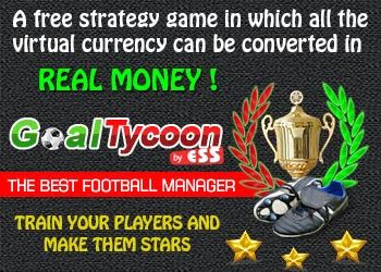 http://www.goaltycoon.com/bestfootballgame/onimushacs GoalTycoon is an online football manager, in which you can convert the virtual currency to your benefit. It is a strategy game that relies on the management of a football team. The Manager will be the one that picks the best game strategy, choosing the players, the training strategies and also the financial strategy.  Every user from the GoalTycoon community will have a football team and a club park, which is made out of a stadium…