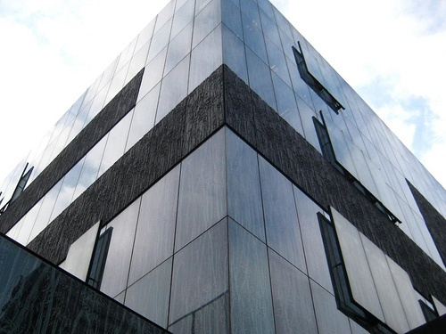 Wiel Arets - 2004. The closed panels seem to float.
