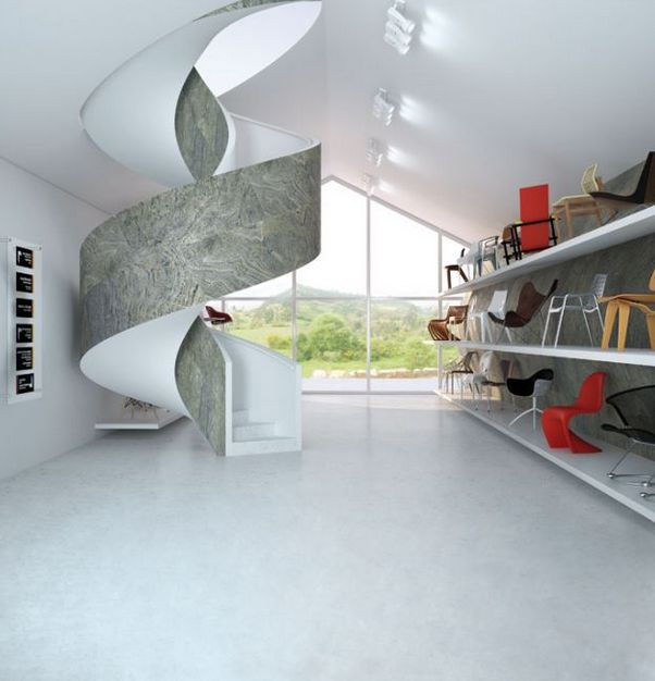 A versatile and modern look in stairs