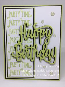 Happy Birthday Gorgeous Bundle, Stampin' Up! www.stampinwithmarcy.com  Creating Kindness Design Team Blog & Video Hop