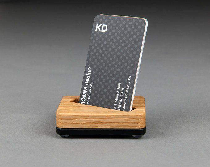 Business Card Stands Krommdesign Business Card Displays Business Card Stand Wood Business Cards