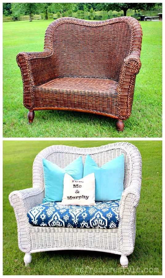 1000 Ideas About Painted Wicker On Pinterest Painted Wicker Furniture Painting Wicker And