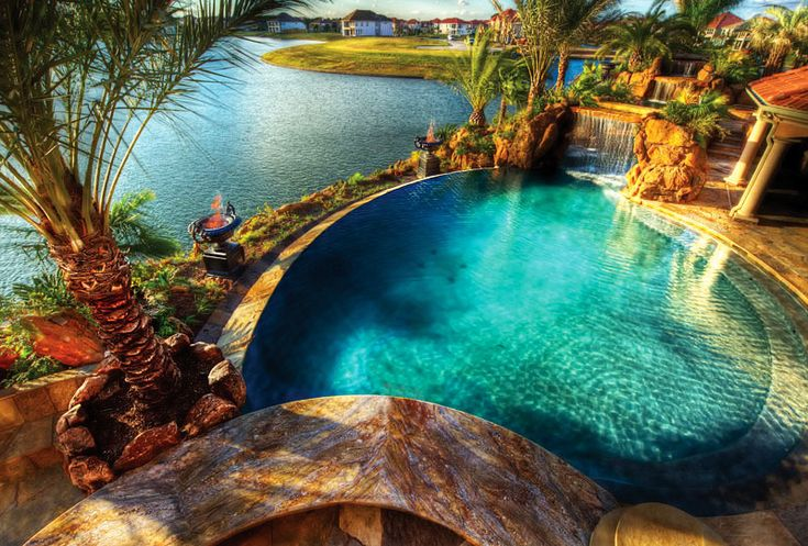 Backyard Landscaping Paradise- Thirty Magnificent All-natural Pools That Will Mesmerize You | HGTV Decor