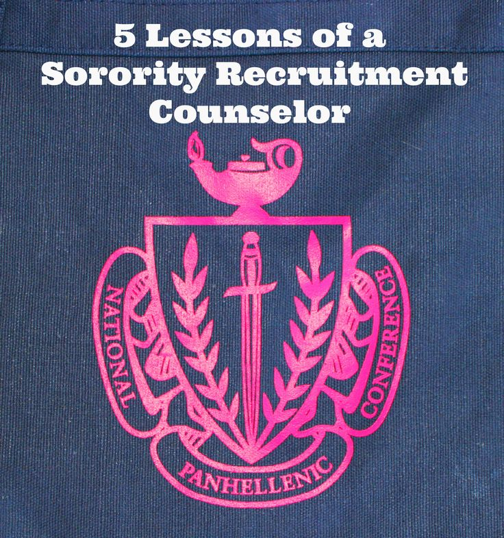 5 Lessons of a Sorority Recruitment Counselor