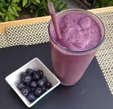 A blueberry smoothie with a wee twist - check out the recipe here: http://www.happyglutendairyfree.blogspot.co.nz/2013/11/blueberry-smoothie-with-twist.html