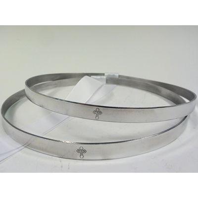 Byzantine Aluminum - OrthodoxWeddingCrowns.com