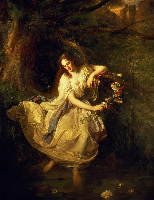 Carl F. W. Trautschold, Ophelia, 19th century
