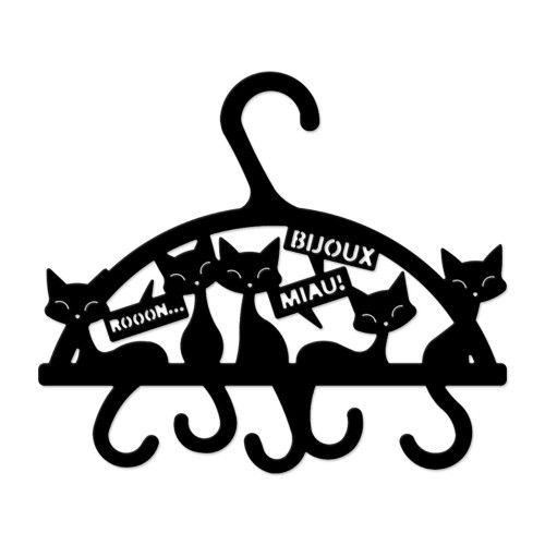 Porta Cintos e Acessórios Cabide Miau