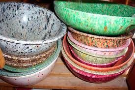 Texasware. YES! The old school stuff! So spendy at flea markets...the trendy recycled bowls slightly resemble it. Not the same! LOVE Texasware! I have one bowl that I use exclusively for popcorn. It was my great aunt's.
