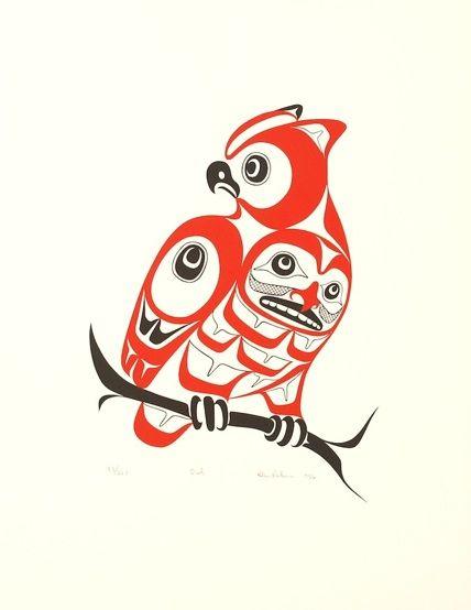 Pacific Northwest Native American Symbols | OtherPrint16