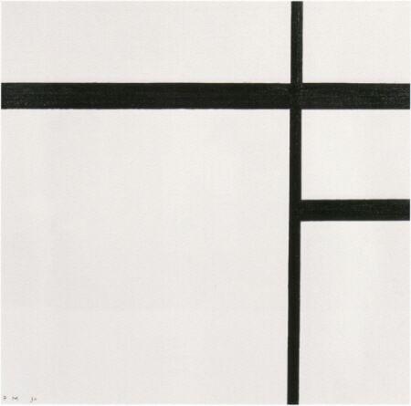 黒い線のコンポジションⅡ