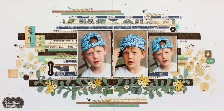 Cutie Double Page Layout by Jowilna Nolte