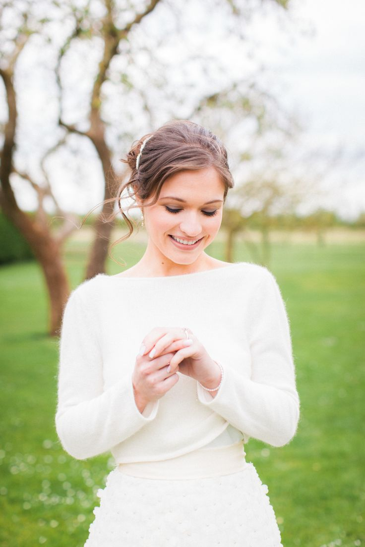 Fine Art Styled Shoot. Planned, Styled and Directed by Natalie Hewitt Wedding & Event Planner. Photographed by Gina Dover-Jaques. Featuring Jesus Peiro cardigan and Charlie Brear skirt.