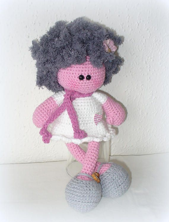 Crochet Doll Curly