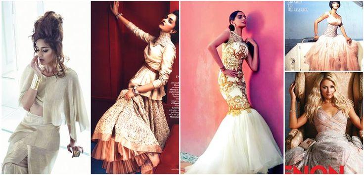 #Celebrating15YearsOfShantanuNikhil Here are the 5 most celebrated #ShantanuNikhil fashion shoots that left an impression!