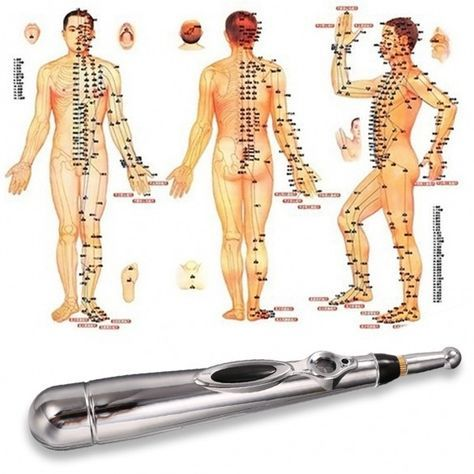 Body Health Electric Acupuncture Magnet Therapy Heal Massage Pen Meridian Energy Pen