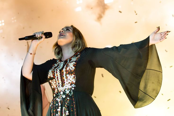 You Have to See Adele's Dress That Took 200 Hours to Make