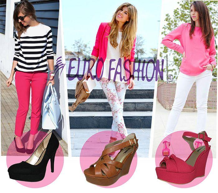 Combina tus prendas de color rosa con diferentes colores de zapatos según tu estilo. Si tu pantalón es rosa es mejor contrastar con colores oscuros como el negro. Con un blazer rosa y pantalones claros combina muy bien el coñac con accesorios de este mismo color. Si deseas usar zapatos rosa, utiliza un pantalón de color claro y blusa o accesorios de la misma paleta del rosa.