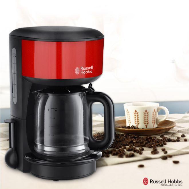 Russell Hobbs Coffee Maker Espresso Machine Red 10~15Cups Rh-20131R