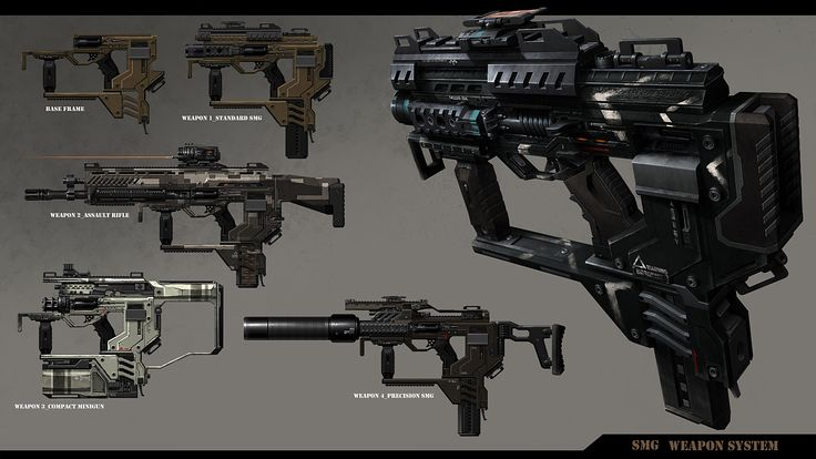 smg - Game: Dust 514