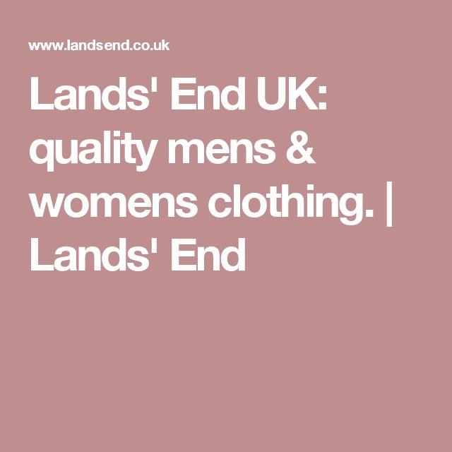 Lands' End UK: quality mens & womens clothing. | Lands' End