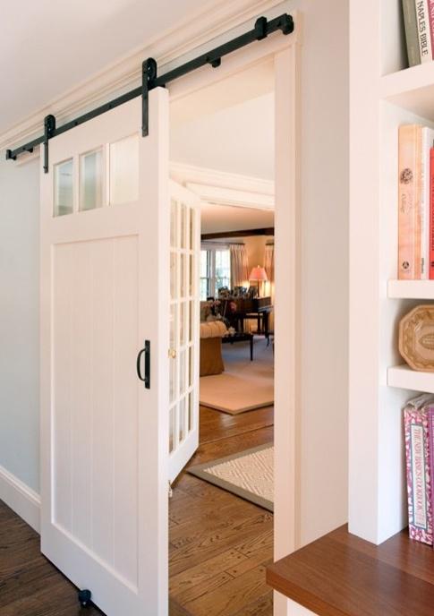 Sliding Door Craftsman Style Basement Pinterest
