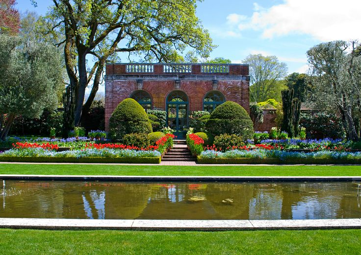 Filoli house garden filoli mansion and gardens in for Filoli garden pool