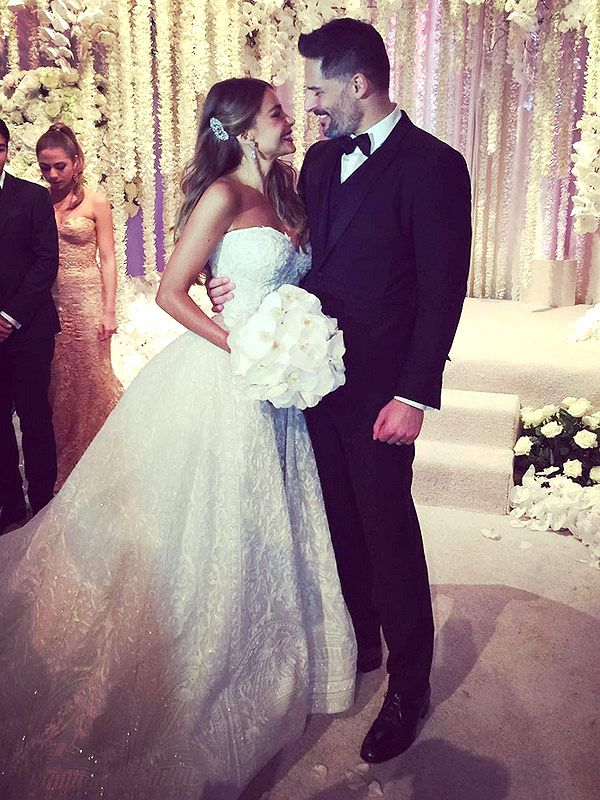 Sofia Vergara and his hubby they are beautiful