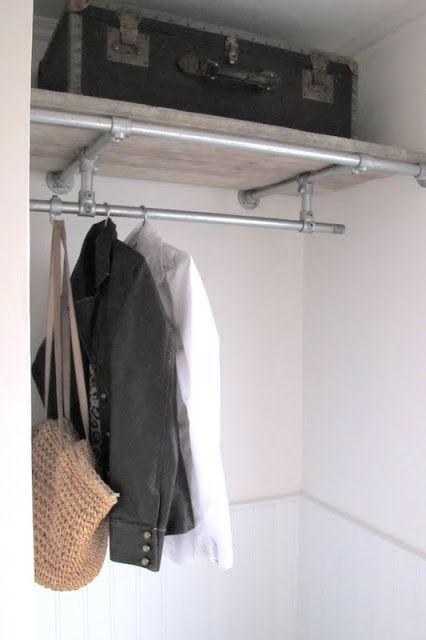 Dressing etagere penderie