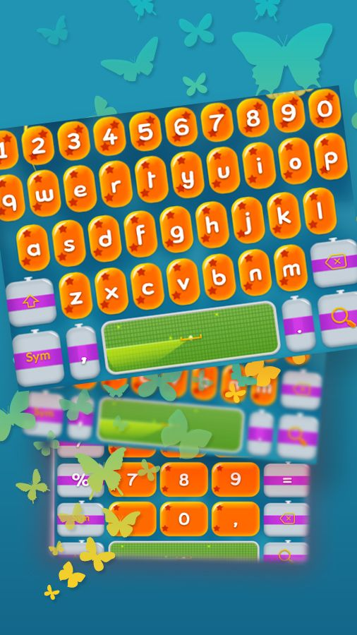 Have #fun with this cute and colorful #keyboard.