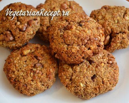 Овсяное печенье без сахара и муки - рецепт с фото | Вегетарианские рецепты «Приготовим с любовью!»