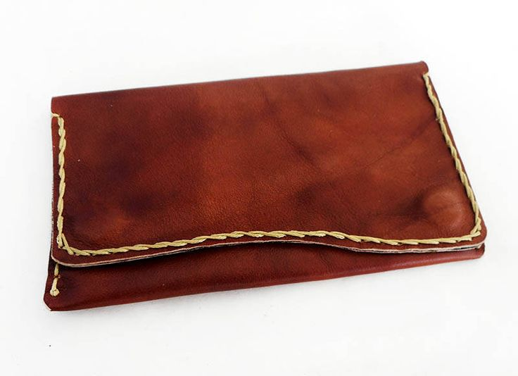 Tabacco case Brown,Leather Tobacco pouch,Smoking Kit,Tabac accessories,Brown color,Genuine leather,Free Shipping by konstcreations on Etsy