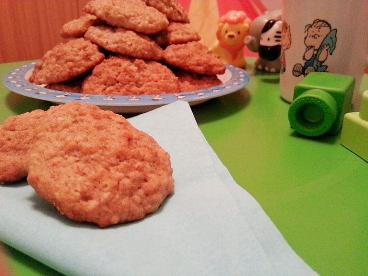 Μπισκότα με μπανάνα και βρώμη - Myblissfood.grMyblissfood.gr