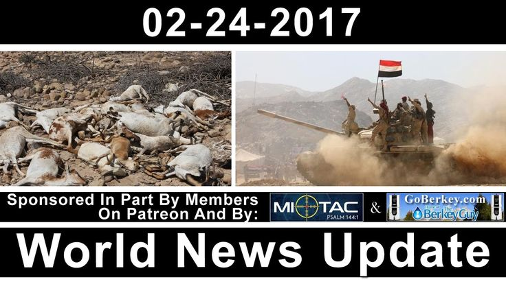 FSS World News Update - Yemeni Hostage - Water Wars - Avian Flu - preppe...