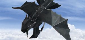 3D Toothless