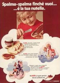 Nutella old ads