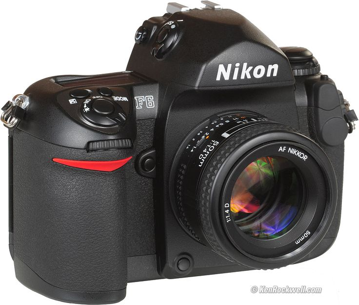 Nikon F6 the last high end Nikon 35mm camera