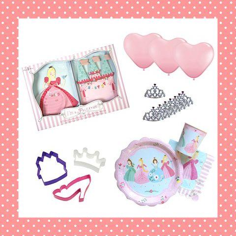 Feestje voor 8 prinsessen die ook nog van koekjes houden (en wie doet dat nou eigenlijk niet...)! http://dekinderkookshop.nl/product/verjaardagspakket-prinses-8-pers/