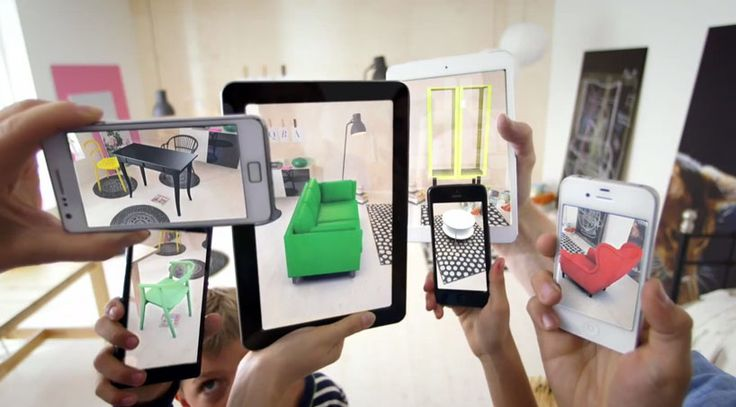 IKEA furniture in your home with an augmented reality app
