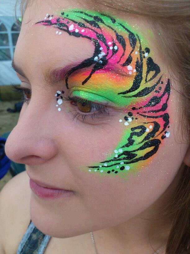 471 Best Images About Face Paint Quick Eye Designs On