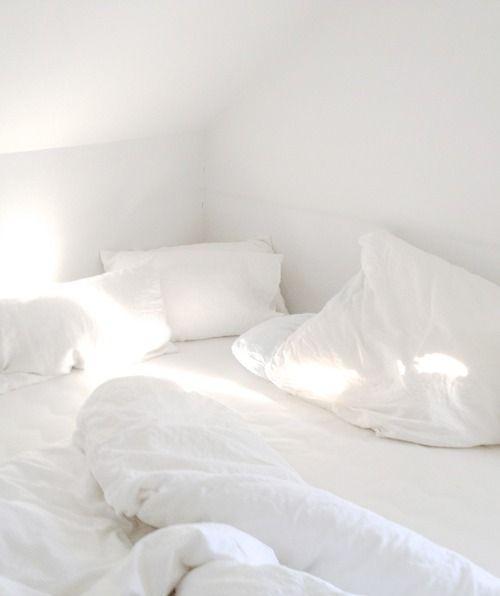 Clean white crispy sheets