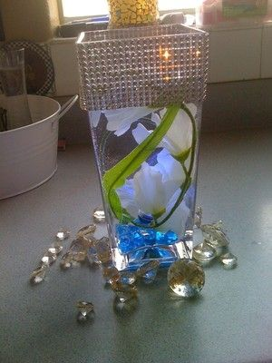 81 best Center pieces images on Pinterest   Table centers, Wedding ...