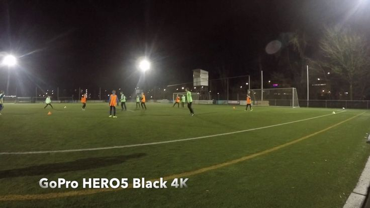 #GoPro #HERO5 Night Soccer Tests. Resulting #1080p60 and 2K or k4 footage or video. GoPro HERO5 can film in k4 but then you lose some post editing options and you cannot film in super wide angle mode. That is interesting for filming soccer matches. GoPro HERO5