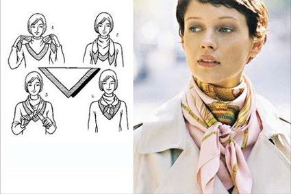 """""""¿Cómo...?"""" Paso a paso: ¿Cómo ponerse un pañuelo en el cuello?"""