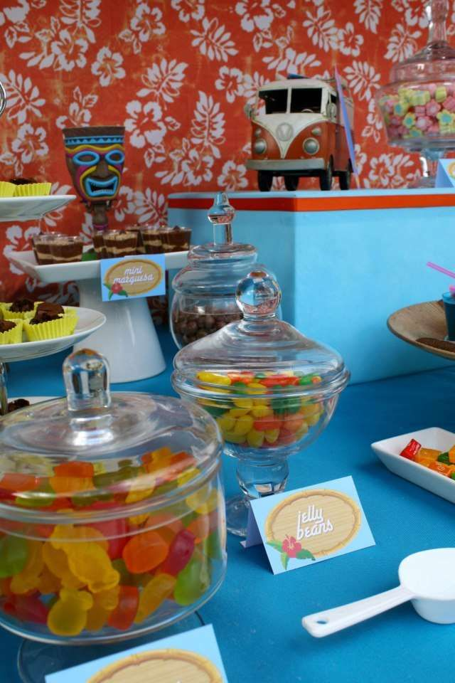 Luau, Hawaiian, Tiki Birthday Party Ideas | Photo 3 of 8 | Catch My Party