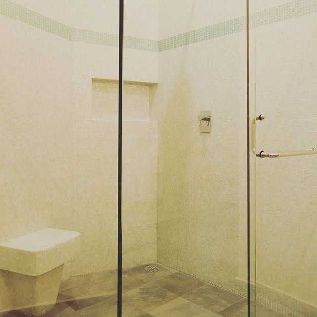 Hotel Room Stories: The Lupita Room  The bathroom is nice and long and at the tail end of it, it opens up to a walk in closet. The same layout and size as The Lety Room right below The Lupita Room.  #thelupitaroom #casalucila . . . . . . . #mazatlan #mexico #lifewelltravelled #traveltheworld #igtravel #worldingram #smallhotel #hotelstories #travel #traveling