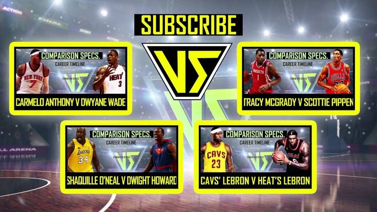 New post on Getmybuzzup TV- VERSUS Pack 4: Shaq v Dwight, Cavs Lebron v Heat Lebron, Melo v D-Wade, T-Mac v Pippen- http://wp.me/p7uYSk-yBb- Please Share